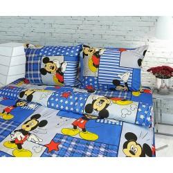 фото Детское постельное белье Микки