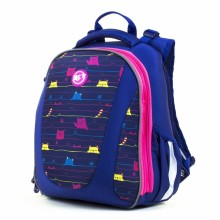 Рюкзак шкільний каркасний Cats