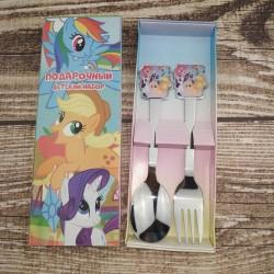 Набор вилка и ложка UNIQUE Ponny