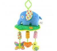 Мягкая подвеска - погремушка Слон