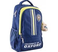 Рюкзак подростковый синий 29 * 45 * 15