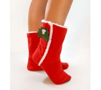 Домашние тапочки Merry Christmas Slivki