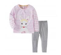 Комплект для девочки 2 в 1 Rabbit Pink