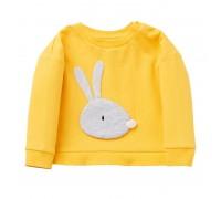 Кофта для девочки Кролик, желтый