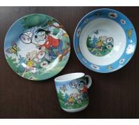 Набор детской посуды Ну - погоди Интерос 3 предмета