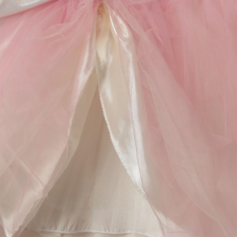 Платье для девочки Симфония цветов, розовый