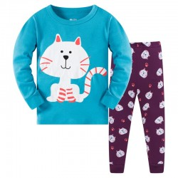 Пижама детская Полосатый котик
