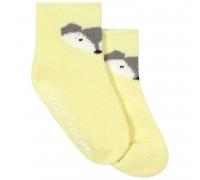 Детские антискользящие носки с начесом Мышка