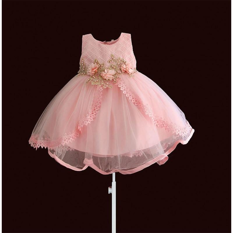 Платье для девочки нарядное жемчужина