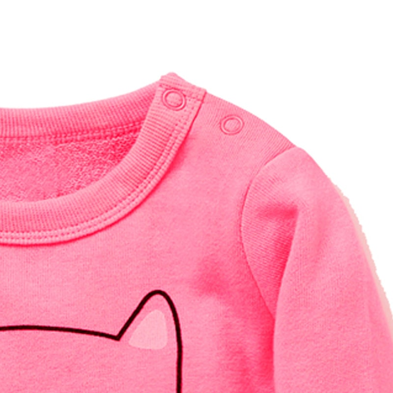 Кофта для девочки Кошечка Pink фото