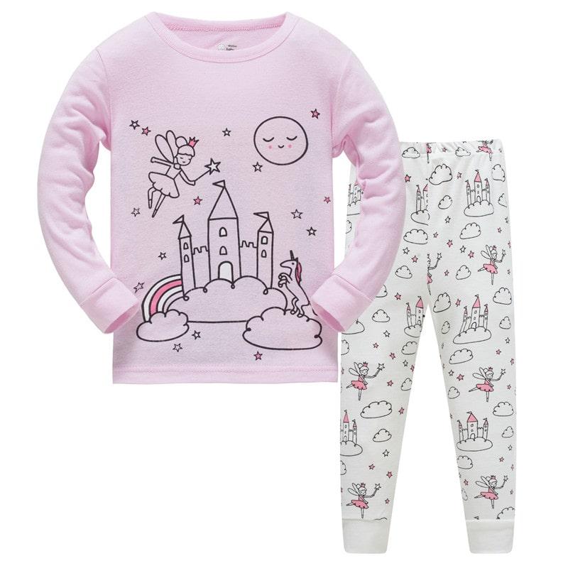 Пижама для девочки Замок феи