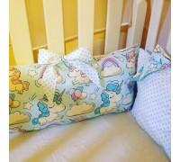 Бортики подушки единорожки