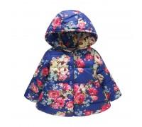 Деми куртка для девочки Бутоны роз