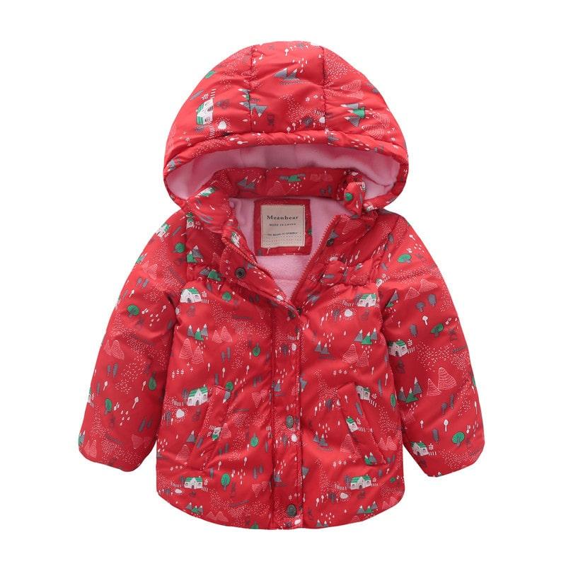 Куртка для девочки Дом