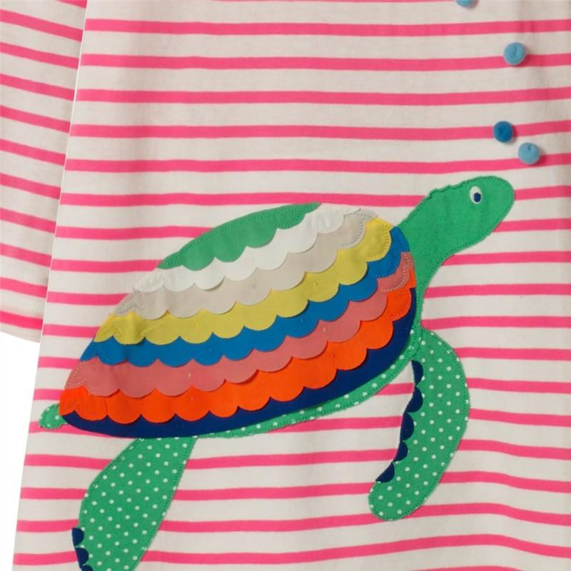Платье для девочки Черепашка