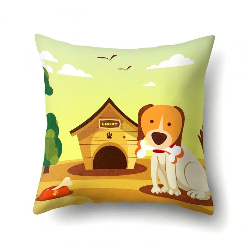 Подушка декоративная Сторожевой пес