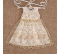 Нарядное платье Ажурне Атлас/гипюр