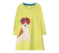 Платье для девочки Милый пес