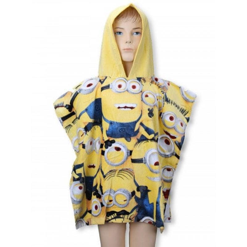 фото детское полотенце пончо Minion2