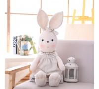 Рюкзак Куколка - Зайчонок, серый, 46см