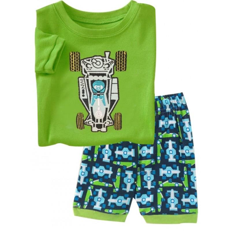 Пижама для мальчика Маленький гонщик