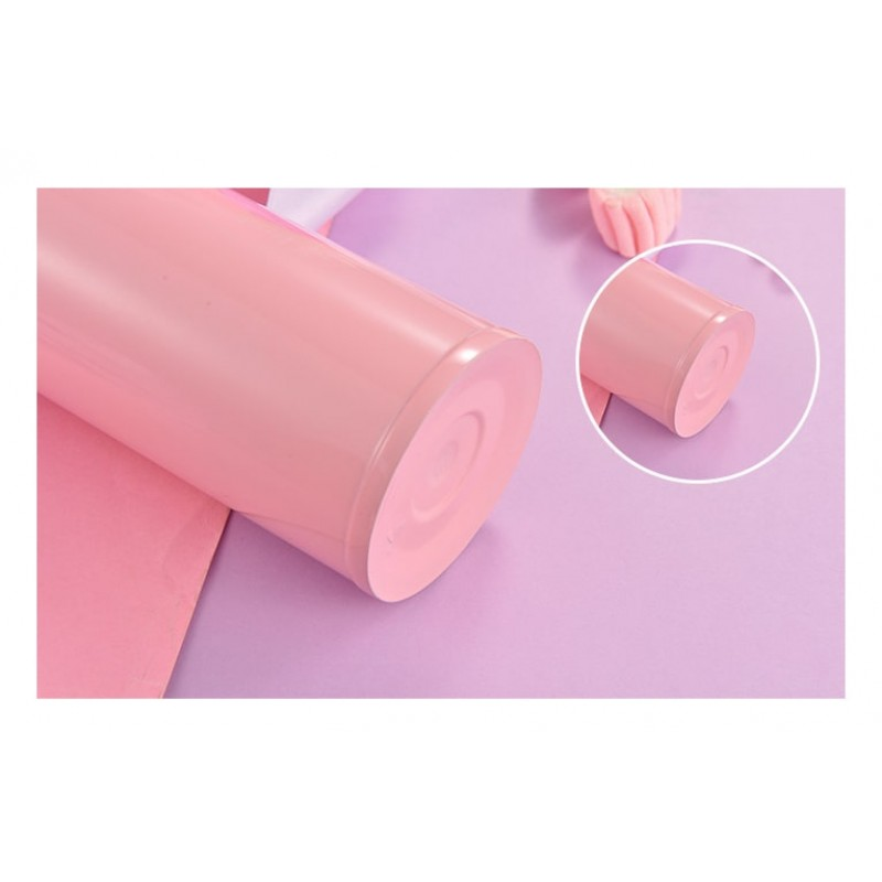 Термос розовый Клубника 350 мл