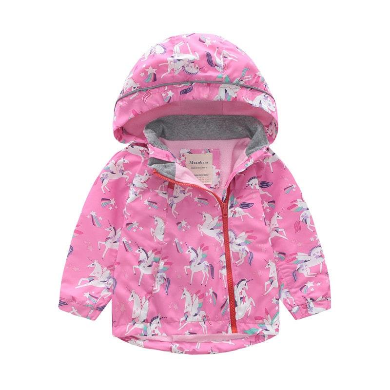 Куртка для девочки Единороги