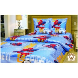 фото детское постельное белье Человек Паук