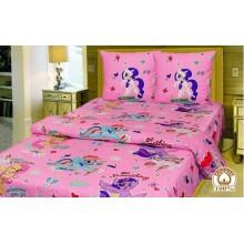 Комплект детское постельное белье полуторка Little Pony Тиротекс