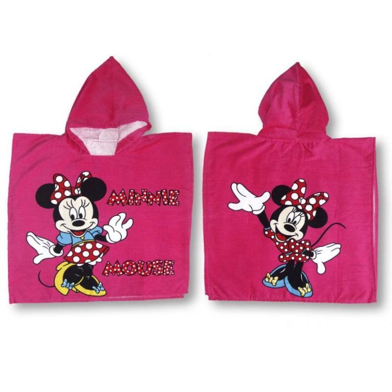 фото детское полотенце пончо для девочки Minni