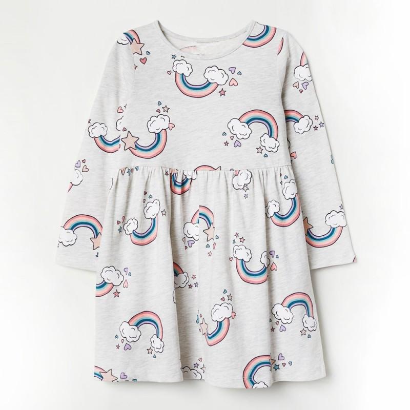 Платье для девочки Радуга