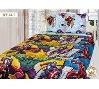 Комплект постельного белья AVENGERS