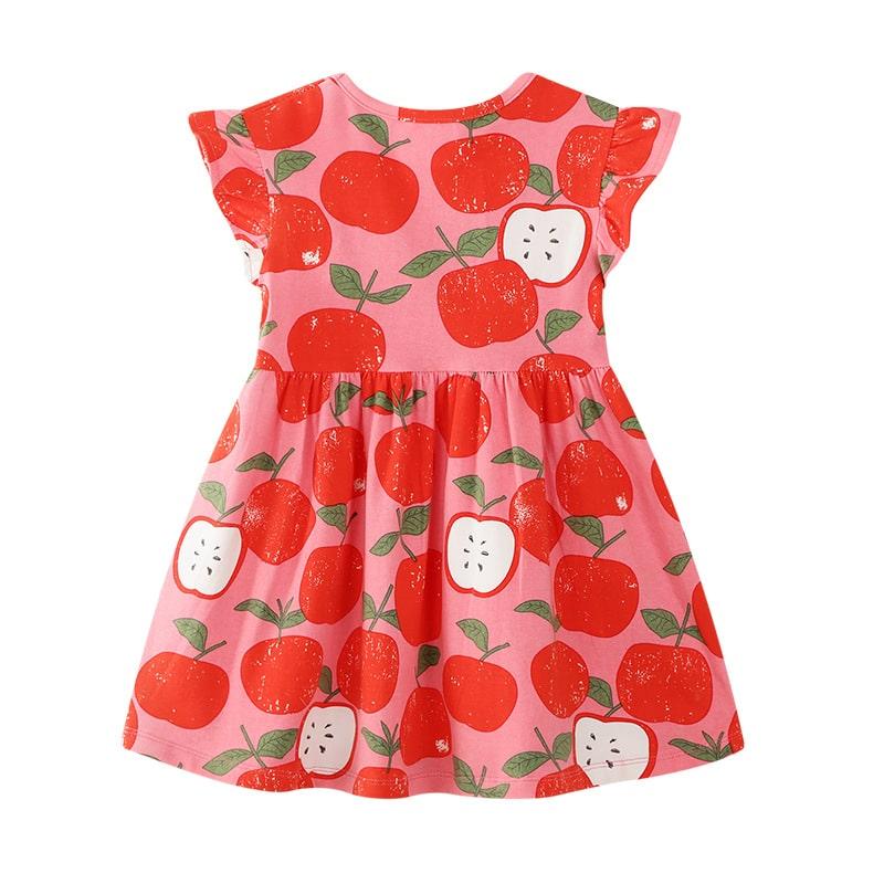 Платье для девочки Красное яблоко