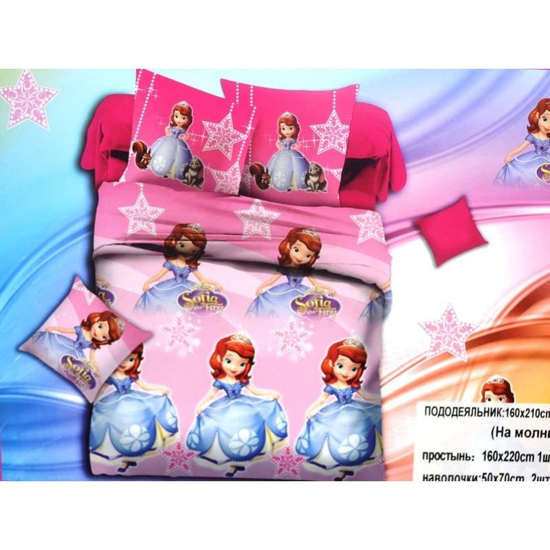 фото детское постельное белье принцесса София