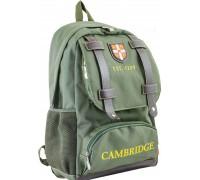 Рюкзак подростковый зеленый 31 * 47 * 17
