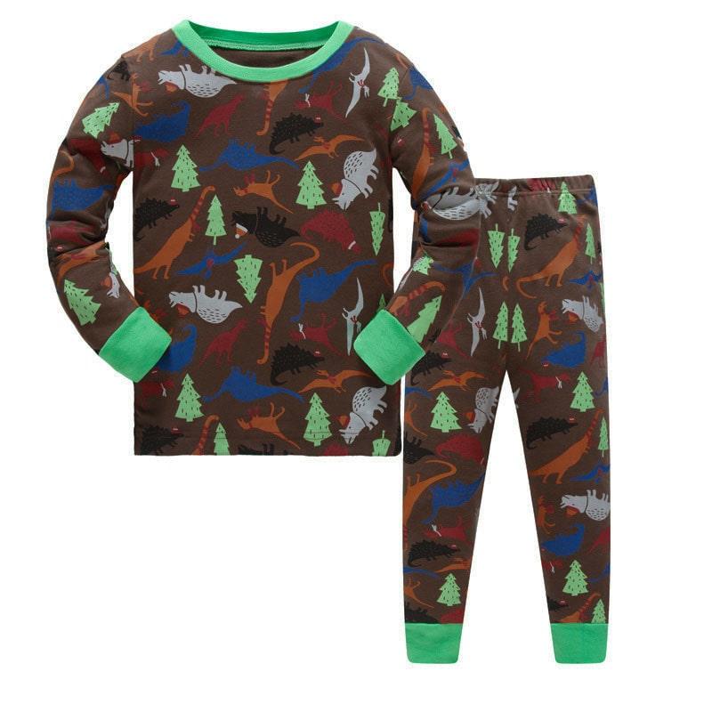 Пижама Динозавры в лесу