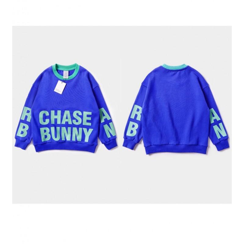 Свитшот детский Chase bunny, синий