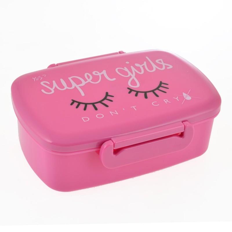 Контейнер для еды Super girls 750 мл 1 вересня