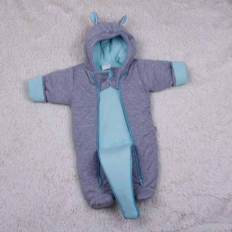 фото демисезонный комбинезон новорожденному