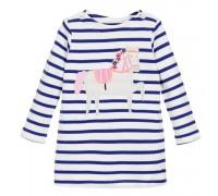 Платье для девочки Белый конь