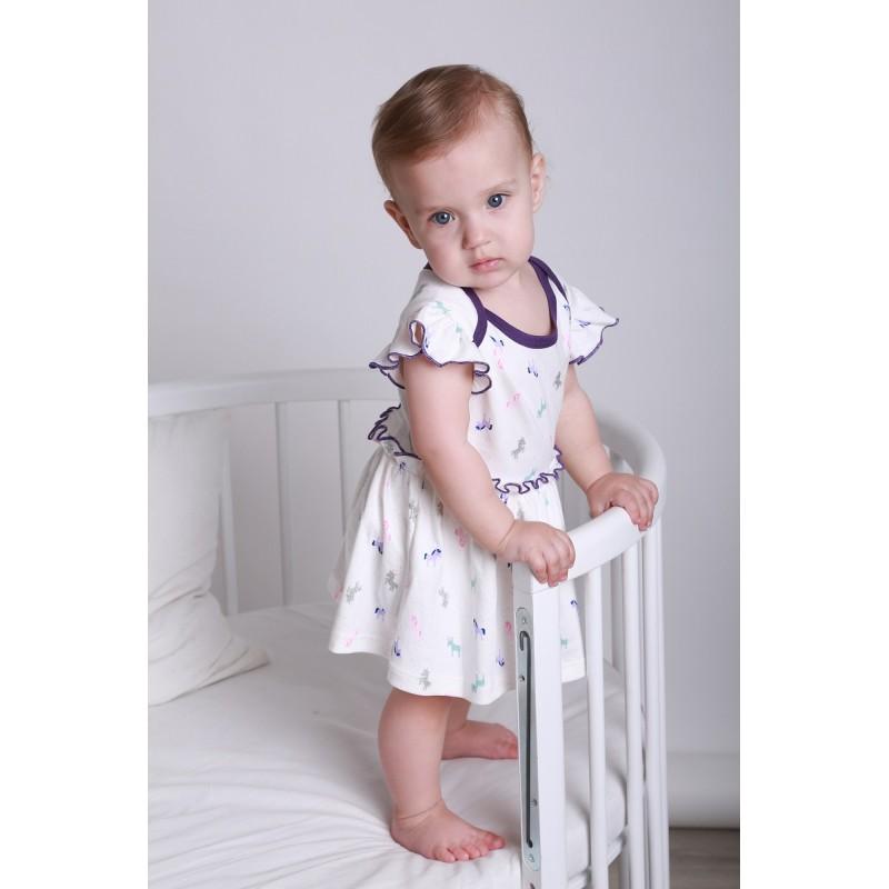 фото летние боди-платье молоко