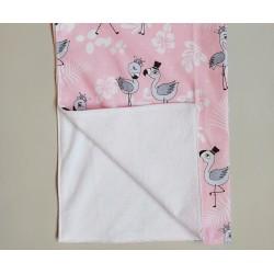 Пеленка непромокаемая Фламинго
