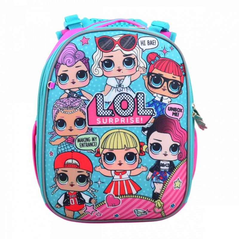 Рюкзак школьный каркасный LOL недорого