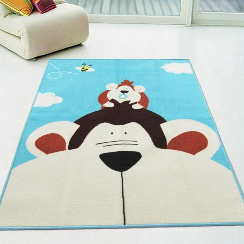 Коврик для детской комнаты Обезьяна