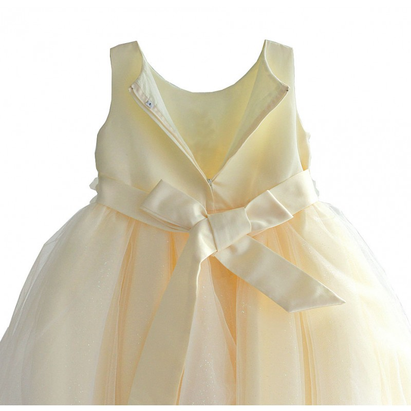 Платье для девочки Золото