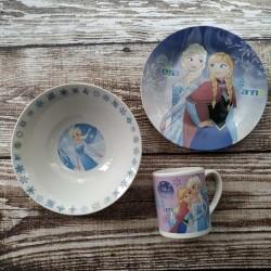 фото Детская посуда 3 предмета Ельза
