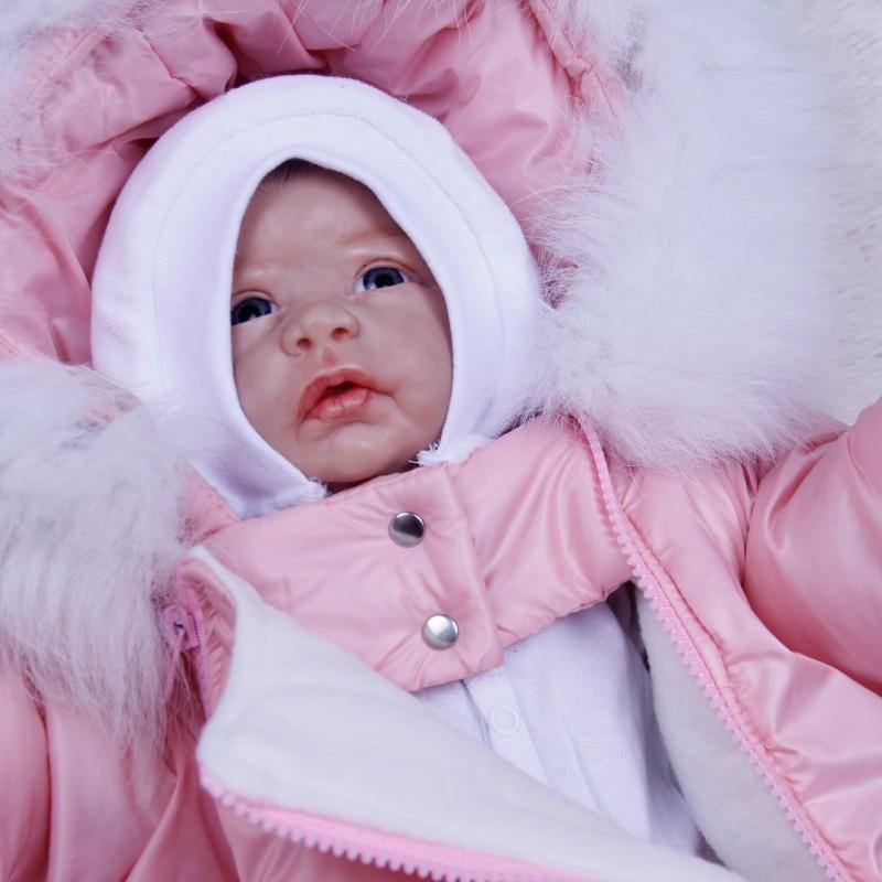фото детский зимний комбинезон-мешок R