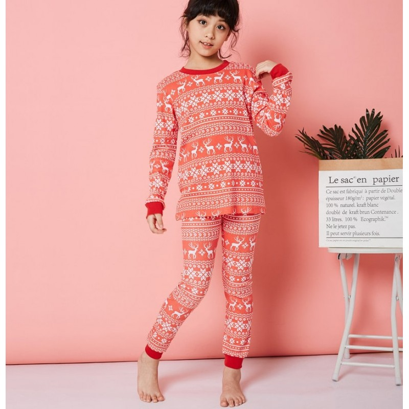 Пижама для девочки Pattern