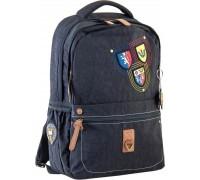 Рюкзак подростковый черный 28.5*44.5*13.5
