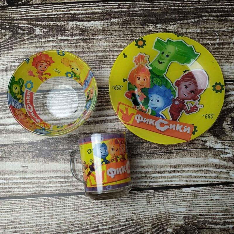 картинка Набор детской посуды Фиксики